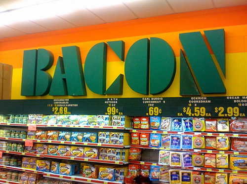 Best Light Bar >> The Bacon Section of the Grocery Store – Eat Me Daily