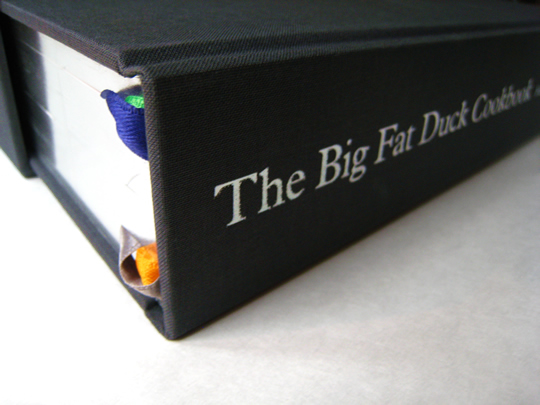 The Big Fat Duck Cookbook