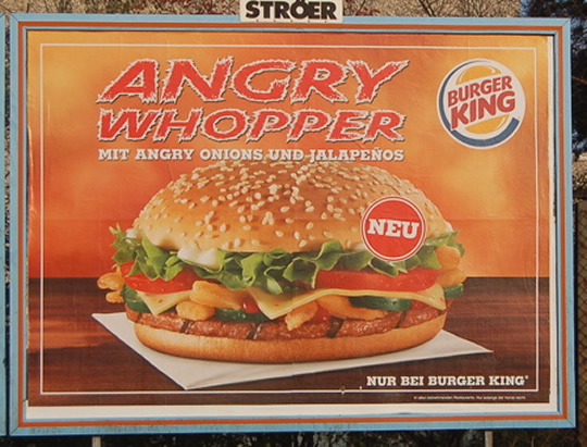Burger Kings Angry Whopper Fails To Elicit Anger Eat Me Daily