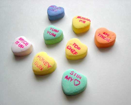 Erotic Candy Hearts