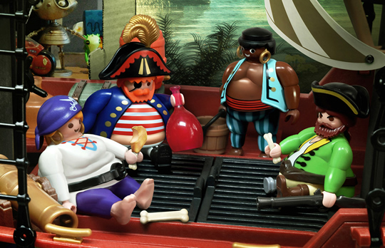 Obese Barbie Superman Playmobil Advertising Eat Me Daily