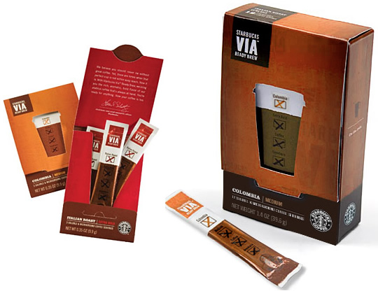 Starbucks Packaging Design Template