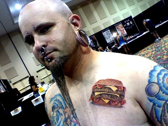Burger Tattoo2