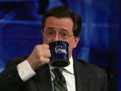 Eat Stephen Daily His Colbert On Coffee Me Consumptionvideo– rBdoxWeC