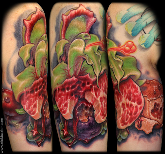 orchids tattoos. Meat Orchid/Ripe With Decay by