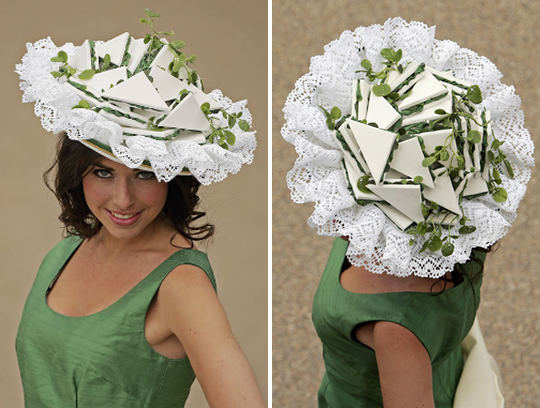 2006: Watercress Sandwich Hat. Photos: Getty Images