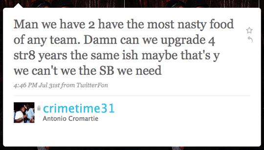 cromartie-tweet