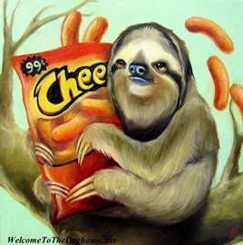 sloth-with-cheetos2