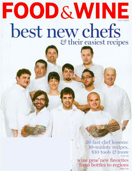 Reader Objects to Chef Tattoos on the Cover of Food & Wine