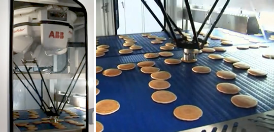 Automatic Cake Pan Greasing Machine