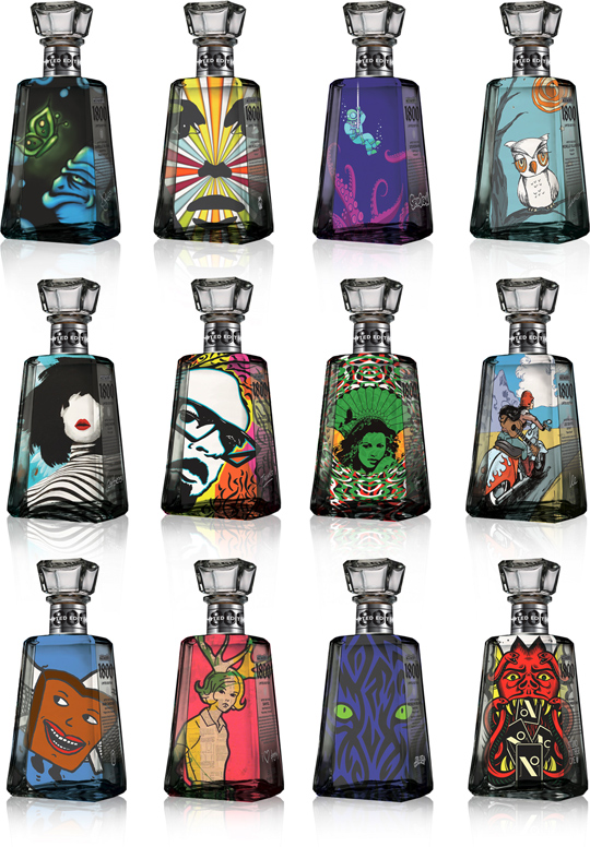 Designer 1800 Tequila Bottles – Eat Me Daily