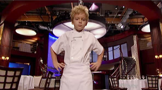 Little Gordon Ramsay On Hell S Kitchen Video Eat Me Daily