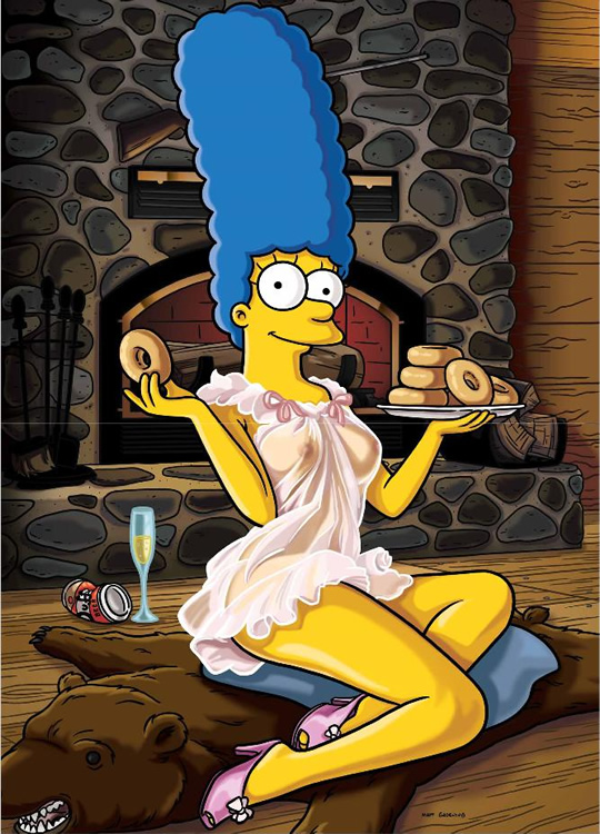 Necessary Nude pics of Marge Simpson the