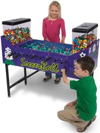 Soccer Ball Candy Foosball Small