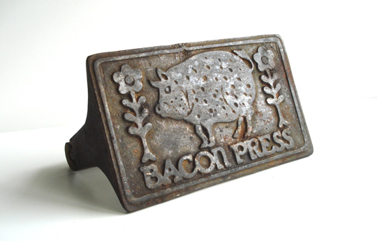 vintage-bacon-press