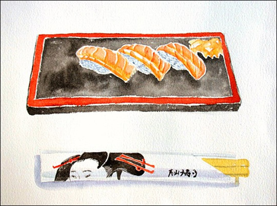 working-woman-sushi