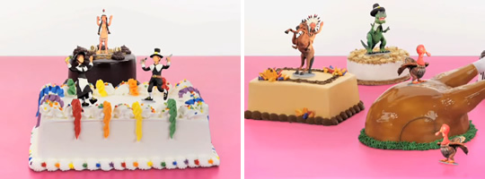 Baskin Robbins Thanksgiving Ice Cream And Cake Commercial